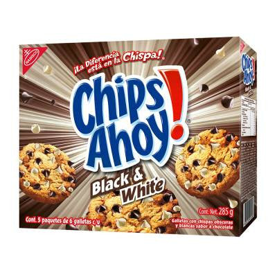 Chips Ahoy! Black & White Chip Cookies (5 packs)