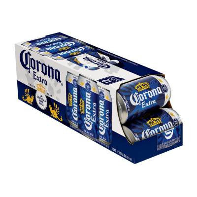Corona Extra Beer Cans (12 pack)