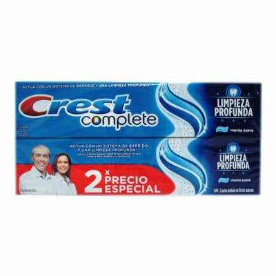 Crest Complete Deep Clean Toothpaste (2 Pack)
