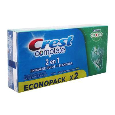 Crest Complete Whitening + Scope Multi-Benefit Toothpaste (2 Pack)