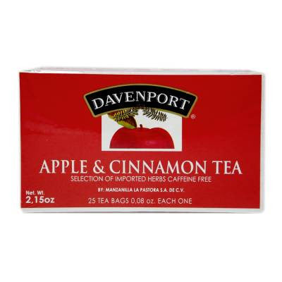 Davenport Apple & Cinnamon Tea (25 ct)