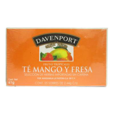 Davenport Mango & Strawberry Tea (25 ct)