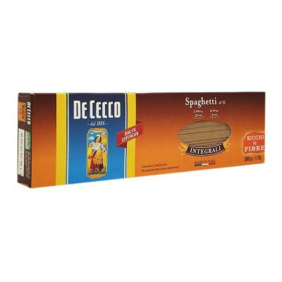De Cecco Whole Wheat Spaghetti