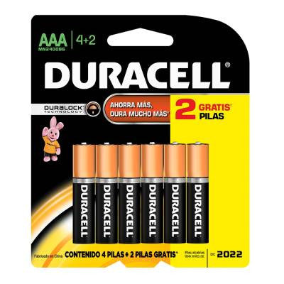 Duracell AA Alkaline Batteries (4 ct)