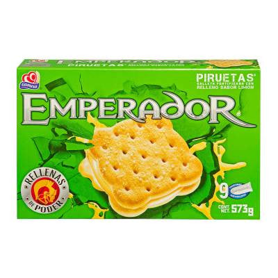 Emperor Lemon flavored Cookies (9 Packs)