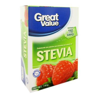 Great Value Stevia (110 ct)
