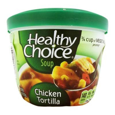 Healthy Choice Chicken Tortilla Soup