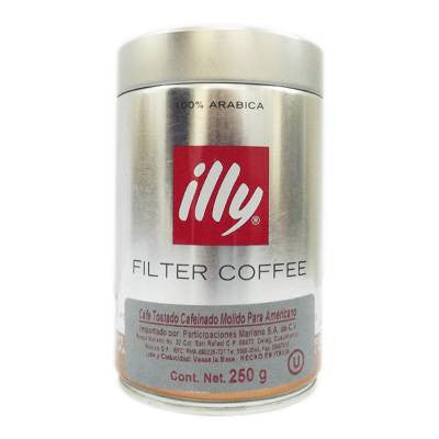 Illy Coffee Ground Dark