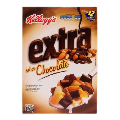 Kelloggs Extra Cereal - Chocolate