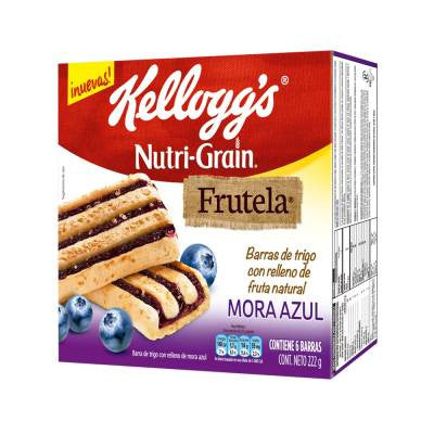 Kelloggs Nutri-Grain Frutela Bars - Blueberry (6 ct)