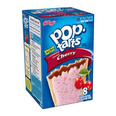 Kellogs Pop-Tarts Frosted Cherry Pastries (8 ct)