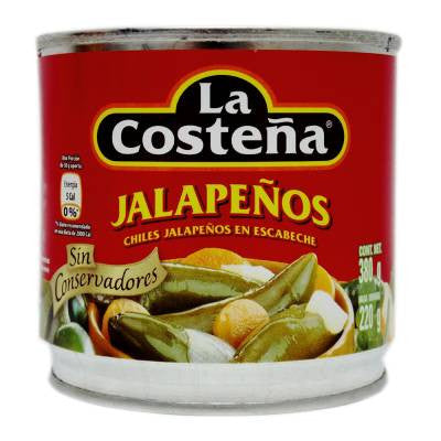 La Costeña Green Pickled Jalapeño Peppers