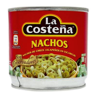 La Costeña Pickled Jalapeño Nacho Slices