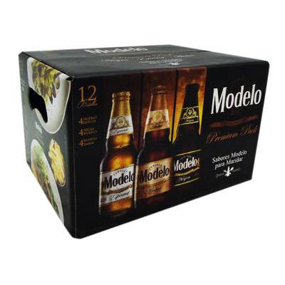 Modelo Premium Beer Bottles (12 Pack Mix)