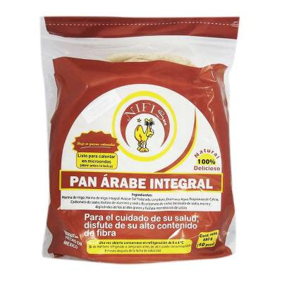 Nifis Whole Wheat Pita Bread (10 ct)