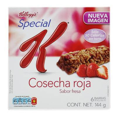 Special K Cereal Bars Strawberry (6 ct)
