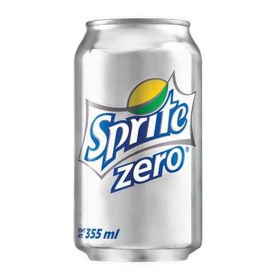 Sprite Zero Lemon Lime Soda Can