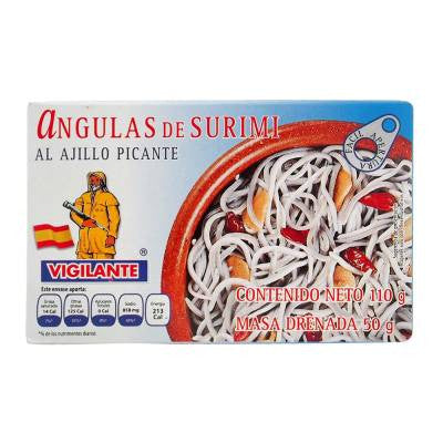 Vigilante Surimi Elvers Spicy Garlic Marinated