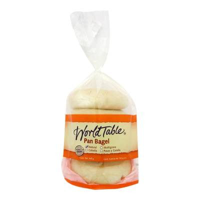 World Table Natural Bagels (4 ct)