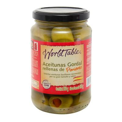World Table Pepper Stuffed Olives