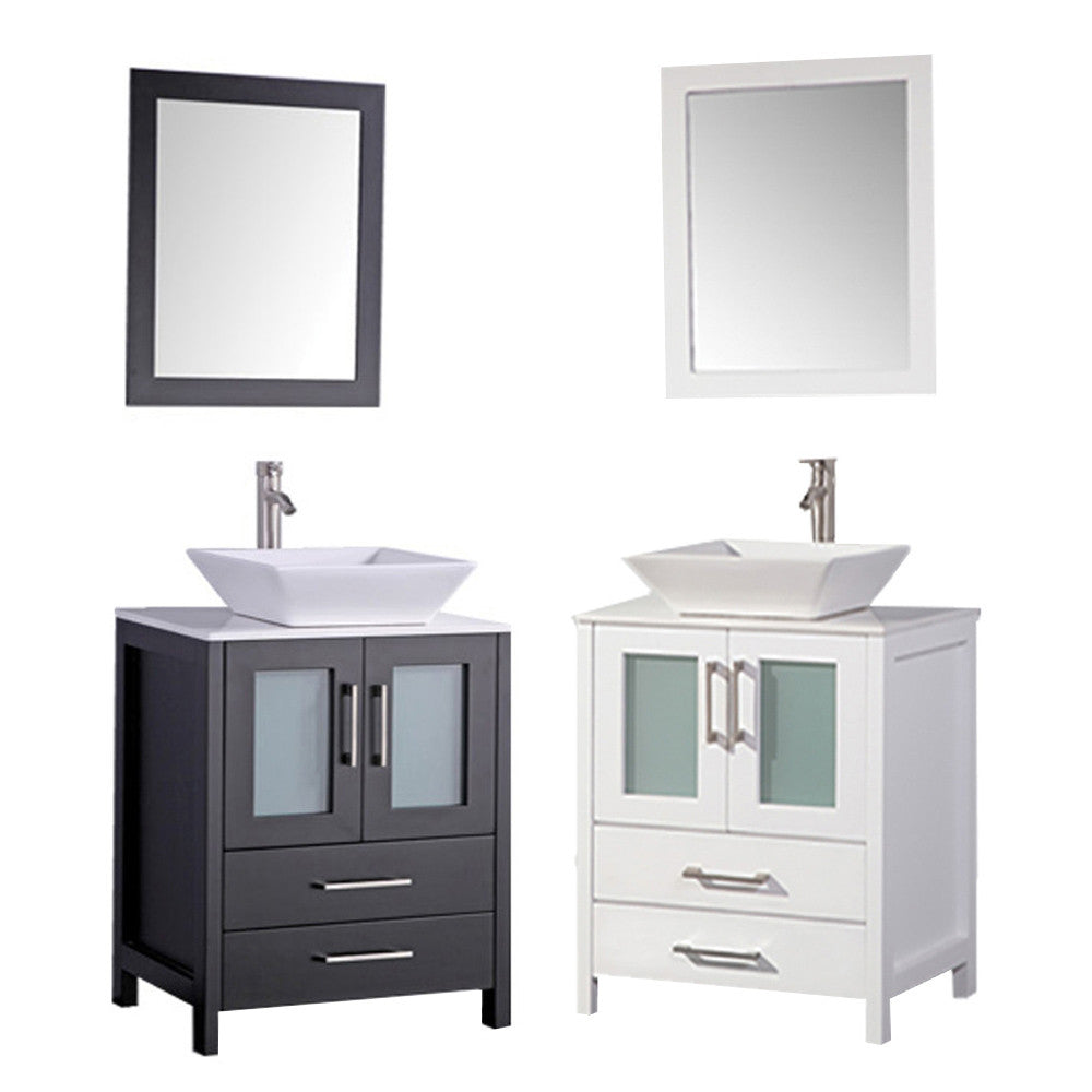Jordan 30 single sink bathroom vanity set Bathroom sink and vanity sets