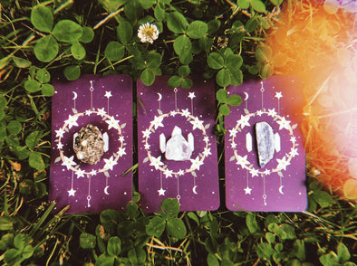 Summer Solstice: Cards & Crystals