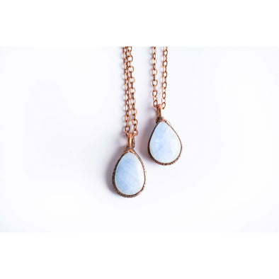 Rainbow moonstone necklace | June birthstone necklace | Moonstone necklace | Birthstone jewelry | Raw moonstone necklace