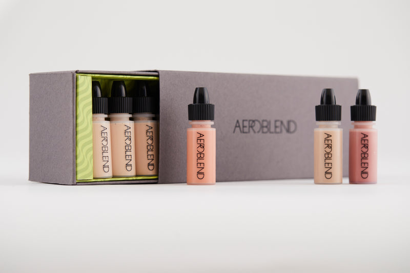 Aeroblend Airbrush Mini Set: 24 Piece Complete Collection