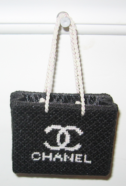 Needlepoint Chanel Shopping Bag