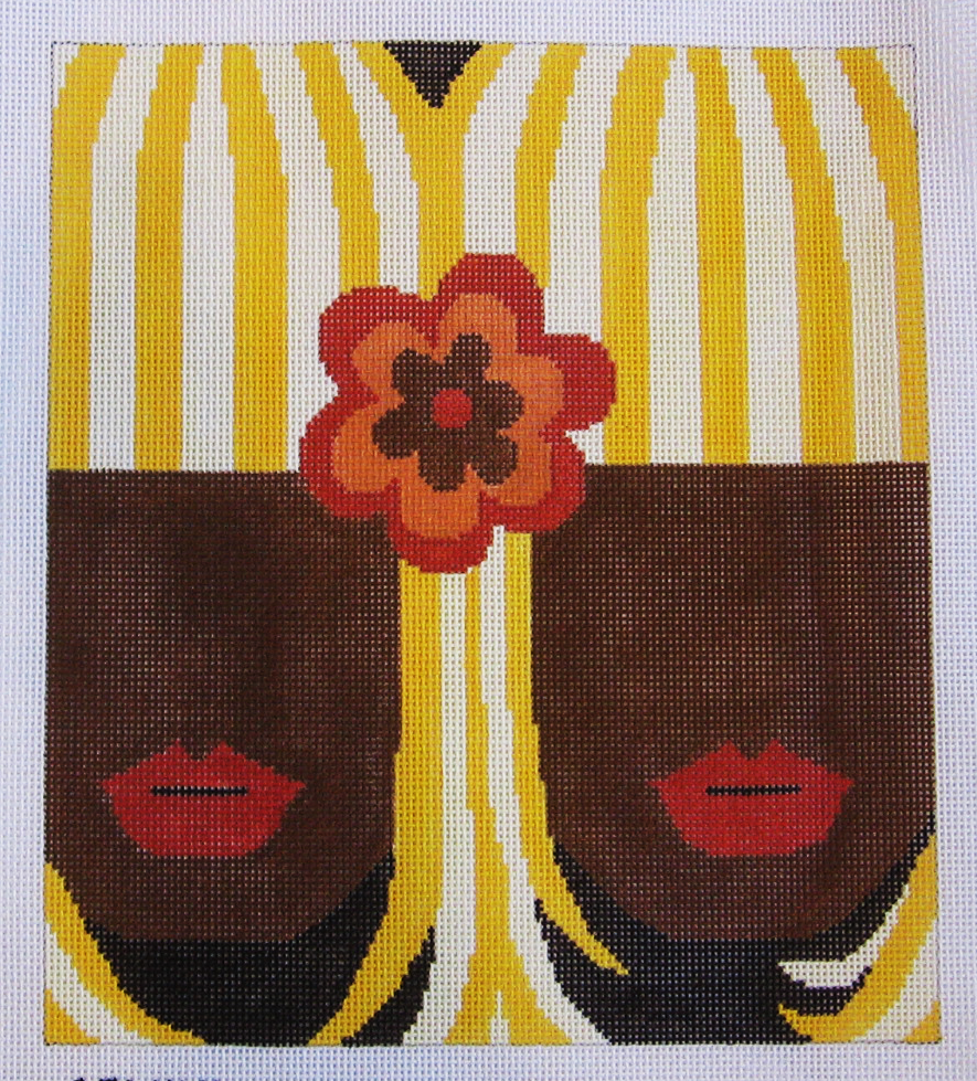 Needlepoint Gemini Canvas