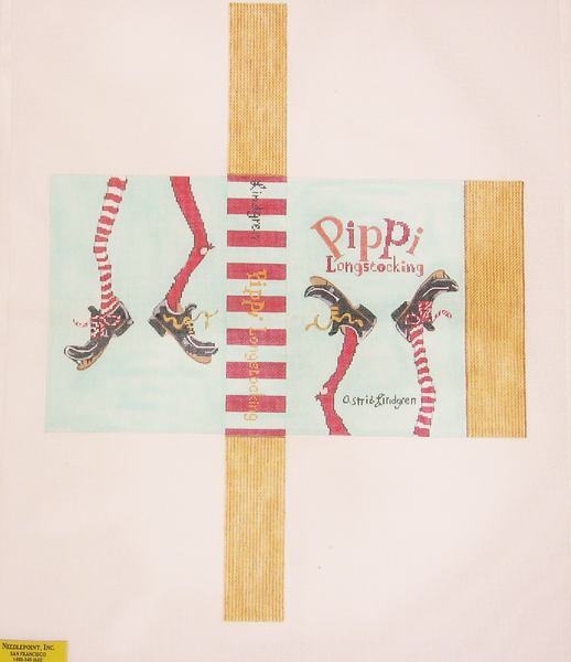 Needlepoint Pippi Longstocking Canvas
