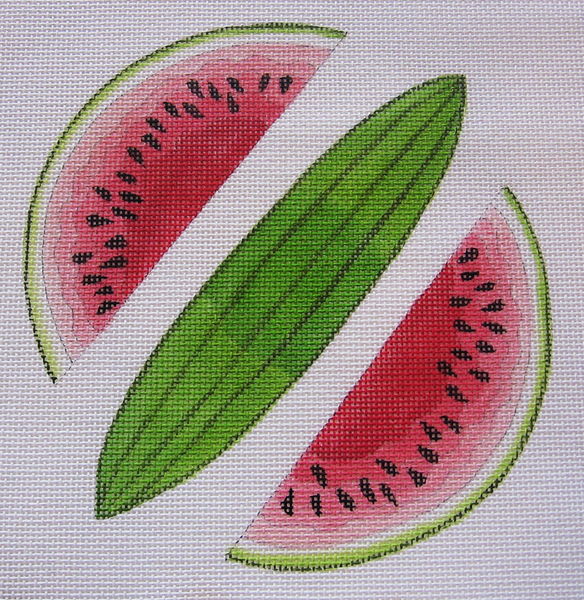 Needlepoint Watermelon Canvas