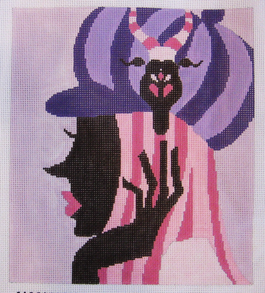 Needlepoint Capricorn Canvas