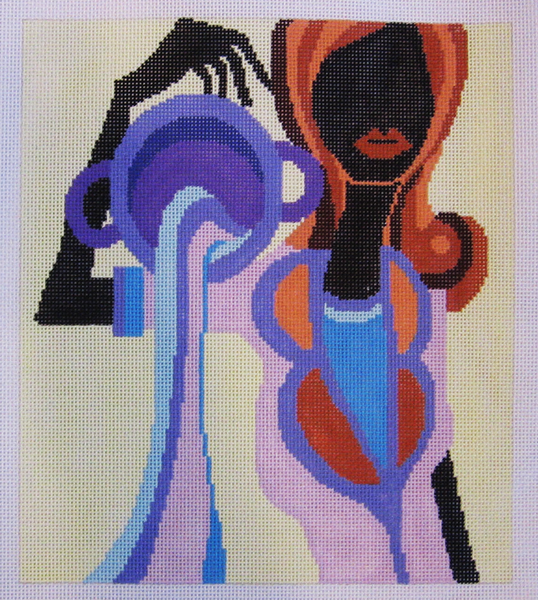 Needlepoint Aquarius Canvas