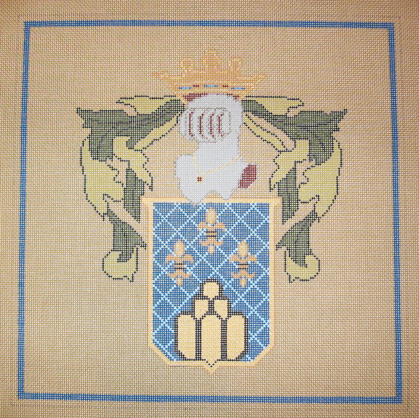 Needlepoint Crest Canvas