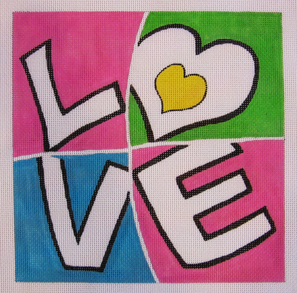Needlepoint Love Canvas