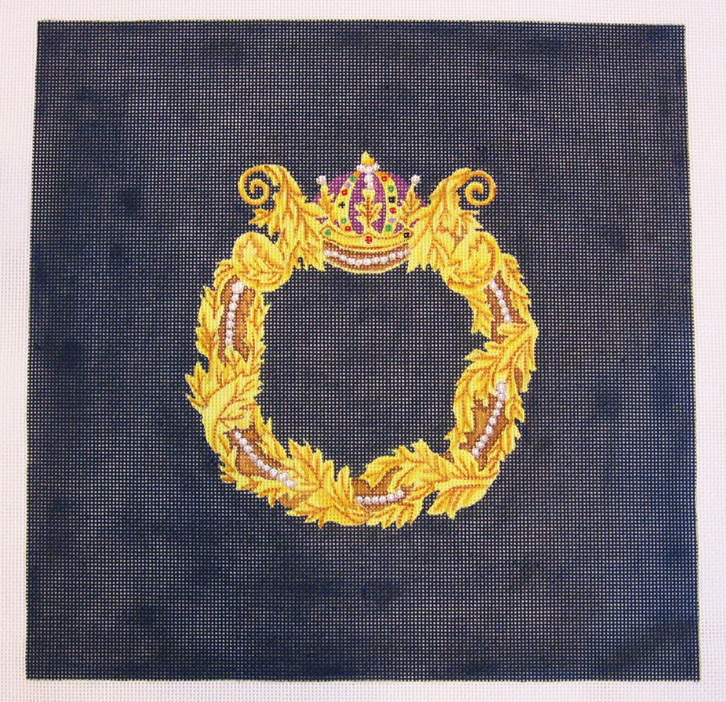 Needlepoint Royal Crown Canvas