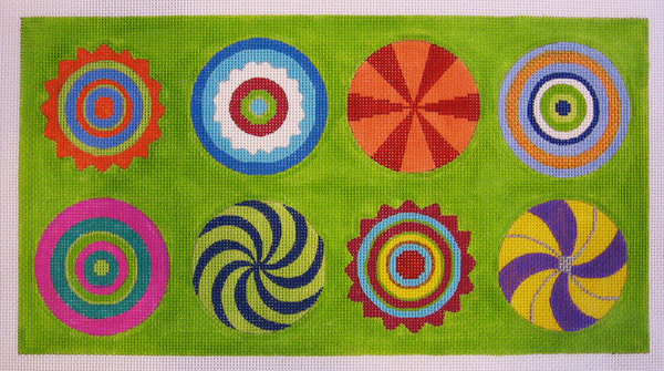 Needlepoint Bull's Eye Canvas