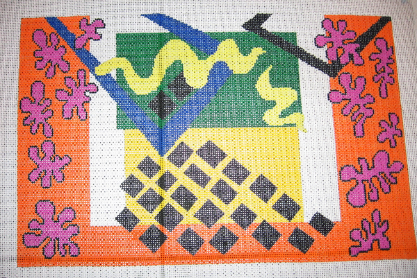 Needlepoint Matisse Canvas
