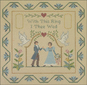 "Needlepoint Ring Bearer Sampler Pillow 9.5"" x 9.5"" 18m $ 150_ Canvas"