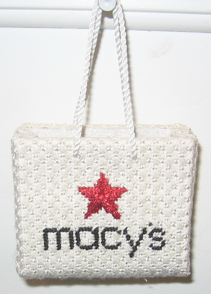 Macy's  Shopping Bag Ornament
