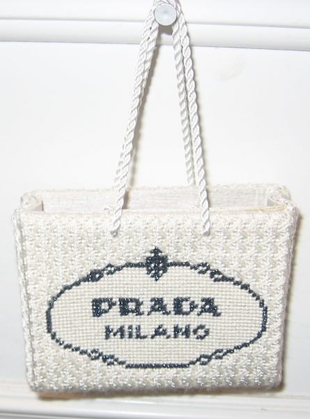 Prada Shopping Bag Ornament