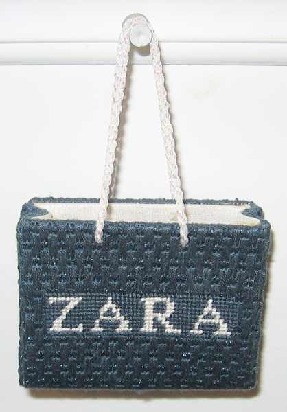 Zara Shopping Bag Ornament