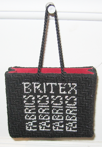 Britex Shopping Bag Ornament