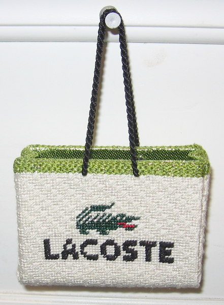 Lacoste Shopping Bag Ornament
