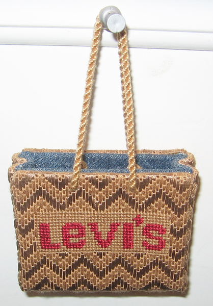 Levi's Shopping Bag Ornament