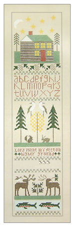 Needlepoint North Country Sampler 5îx20î $ 275_ Canvas