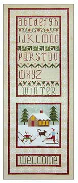 Needlepoint Winter Welcome 6Óx16Ó $ 195_ Canvas