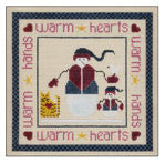 Needlepoint Warm Hearts 7Óx7Ó $ 125 Canvas