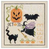 Needlepoint Halloween Spot 6Óx6Ó $ 95_ Canvas
